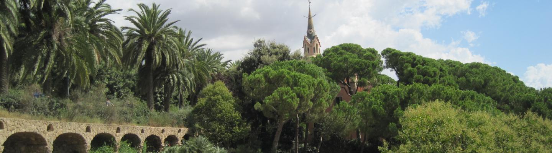 Park Guell Bezienswaardigheid Barcelona